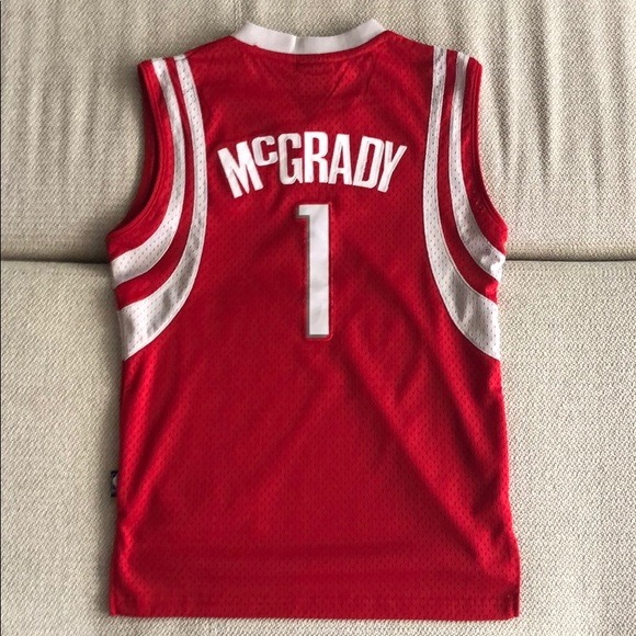 promo code 52968 bd951 Boy's Tracy McGrady Houston Rockets Jersey